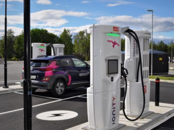 Ionity HPC's offer 350kW charge rates, or around 7x the speed of today's 50kW DC chargers