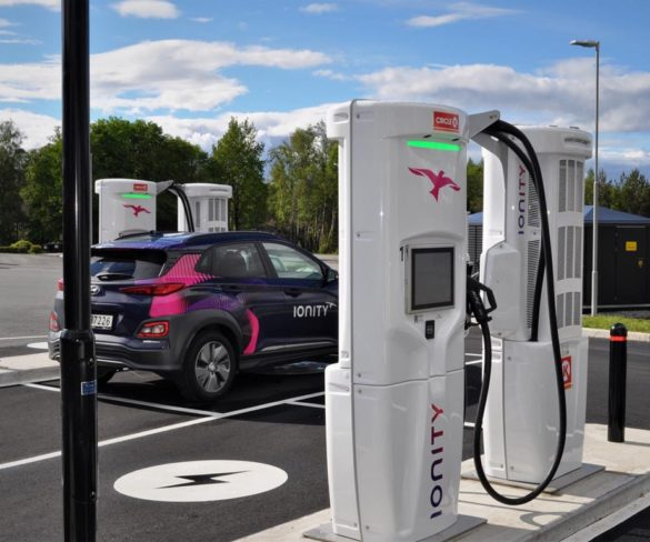 Ionity installs 100th 350kW rapid charger in Europe