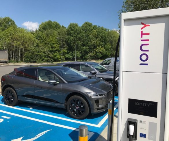 First Ionity 350kW charging station launches in UK