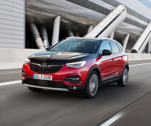 Grandland X marks Opel's first-ever plug-in hybrid