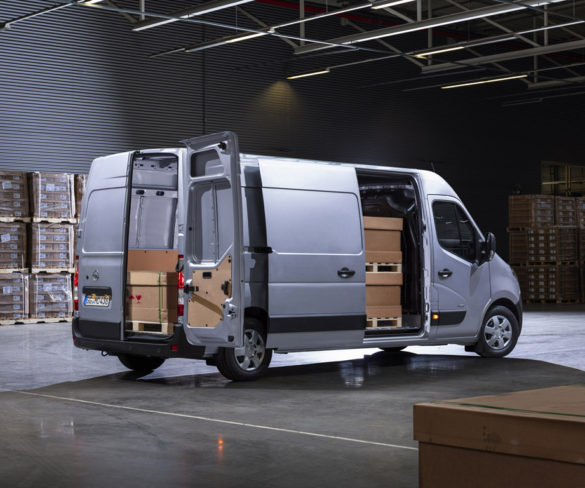 Updated Opel Movano brings new driver safety features