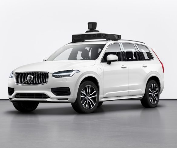 Volvo unveils production-ready autonomous XC90 for Uber