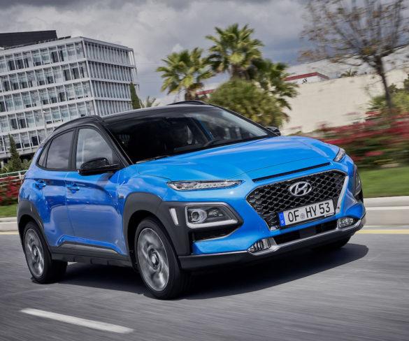 Hyundai Kona gets 90g/km hybrid model
