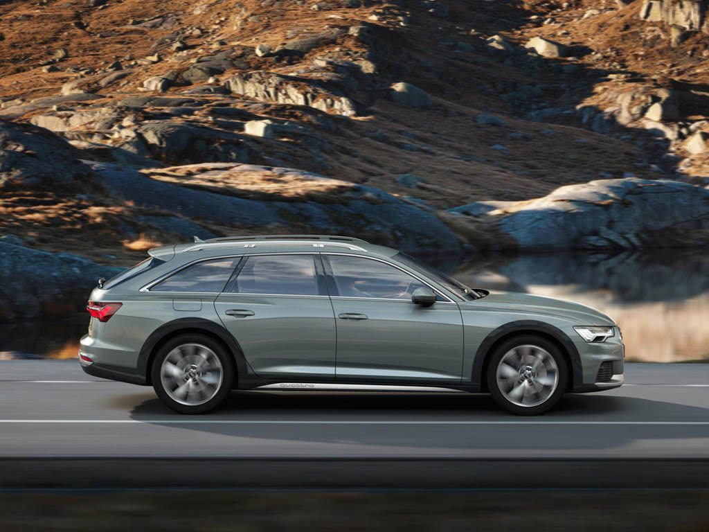 Latest Allroad Is The Fourth Generation Off Road Audi A6 Avant