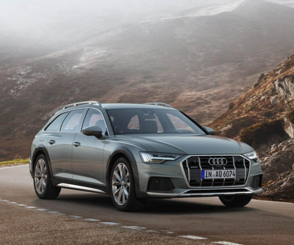 Latest allroad is the fourth generation off-road Audi A6 Avant