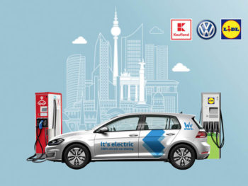 The additional charging points at Lidl and Kaufland outlets will boost the public charging infrastructure in Berlin by almost 20%