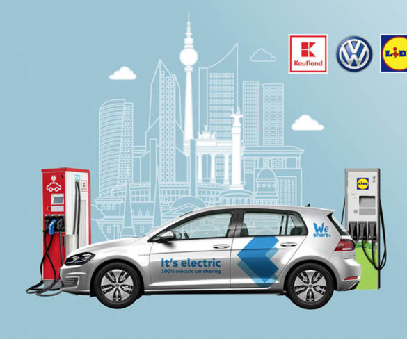 Volkswagen's WeShare gets out-of-hours access to supermarket chargers