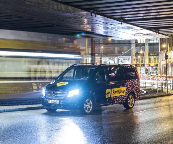 Berlin ride-sharing service scores transport award