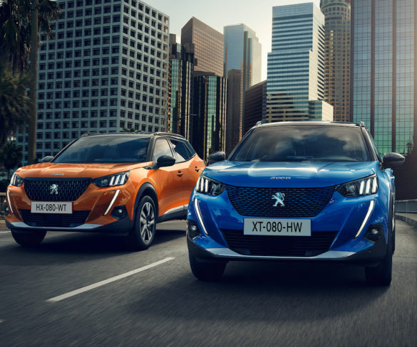New 2008 brings Peugeot's first-ever electric SUV