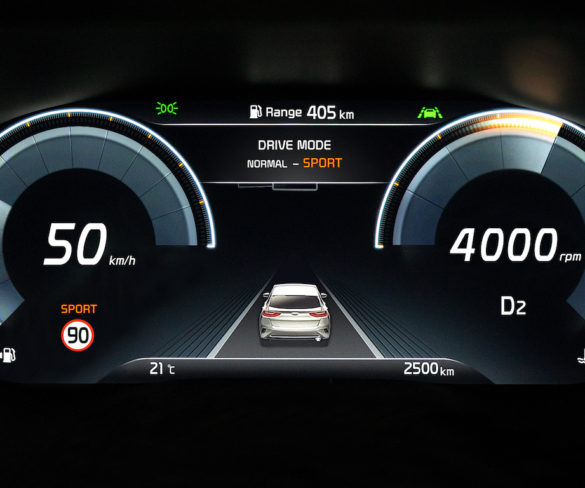 Kia XCeed crossover to bring 12.3-inch digital instrument cluster