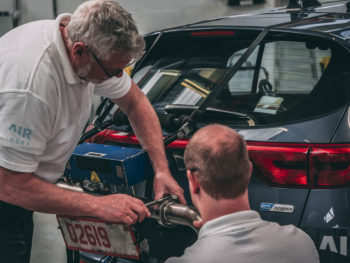 The only car tested by DVSA and found to be within the limits was the Mercedes E-class diesel