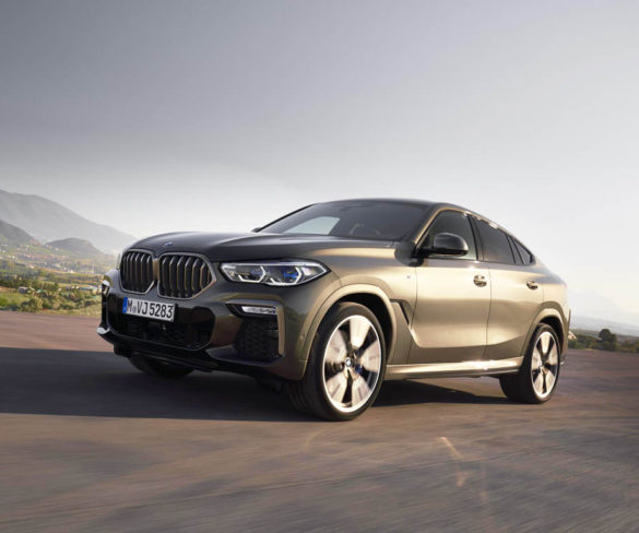 BMW reveals third-generation X6