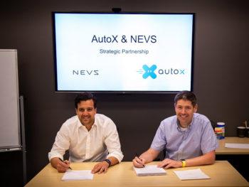 The exclusive strategic partnership covers the integratation of AutoX ́s Autonomous Drive technology in NEVS' next-generation EV architecture