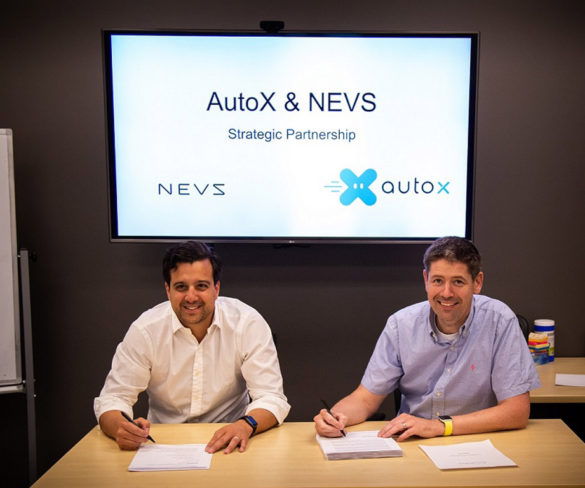 NEVS and AutoX tie-up to bring large-scale 'RoboTaxi' pilots by 2021