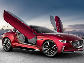 The forthcoming MG electric sports car may resemble the 2017 E-Motion concept