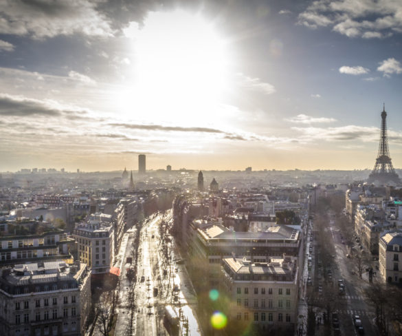 Driving bans imposed in Paris and Lyon