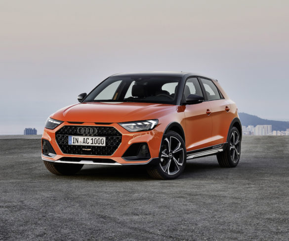 Citycarver model adds off-road appeal to Audi A1