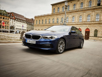 The latest battery improves the 530e's economy by some 20%, while adding 30% more electric range