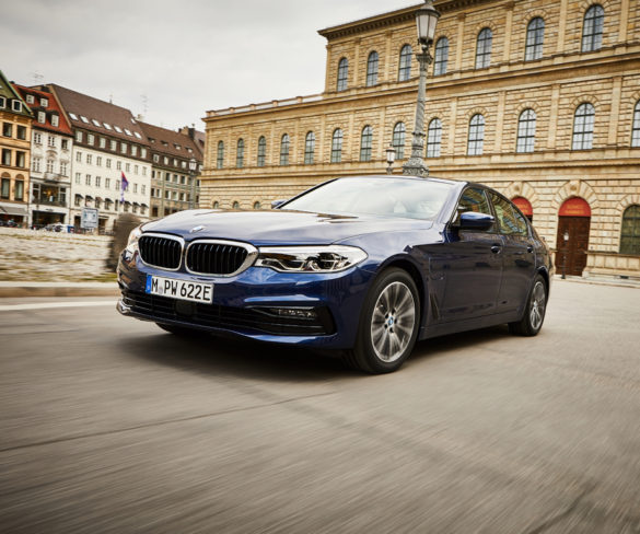BMW 530e gets 30% range increase and 20% lower CO2