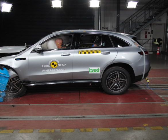 Mercedes-Benz EQC nets five-star rating in latest Euro NCAP tests