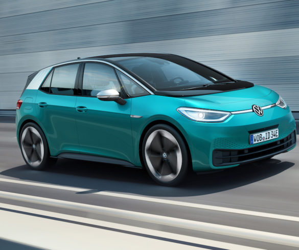 Newly revealed Volkswagen ID.3 to deliver up to 550km range
