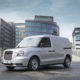 LEVC spotlights new range extender van's 'distribution-to-door' capabilities at Frankfurt