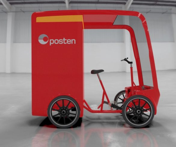 Posten Norge to deploy EAVan eCargo bikes for urban deliveries