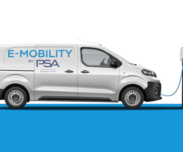 PSA details ranges for forthcoming electric compact vans