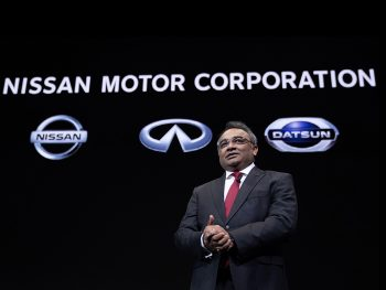 Nissan's chief operating officer and chief performance officer, Ashwani Gupta