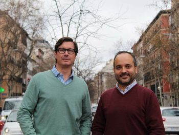 Javier Arambarri, co-founder (left) and Evaristo Babé, CEO and co-founder.