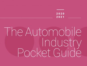 ACEA's annual Pocket Guide provides an overview of the EU auto industry