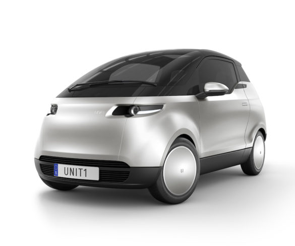 Uniti One three-seat electric city car to bring 'affordable and sustainable' mobility